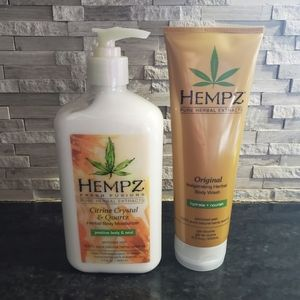 Hempz Lotion and Body Wash Lot